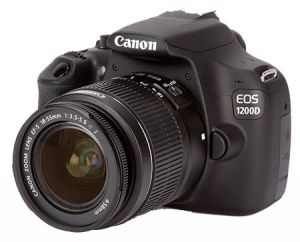 Зеркальный фотоаппарат Canon EOS 1200D Kit EF-S 18-55 IS II
