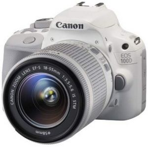 Зеркальный фотоаппарат Canon EOS 100D Kit 18-55mm IS STM White