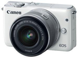 Фотоаппарат Canon EOS M10 Kit EF-M 15-45mm IS STM White