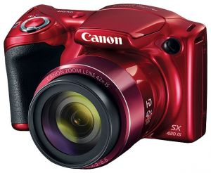 Фотоаппарат Canon PowerShot SX420 IS red