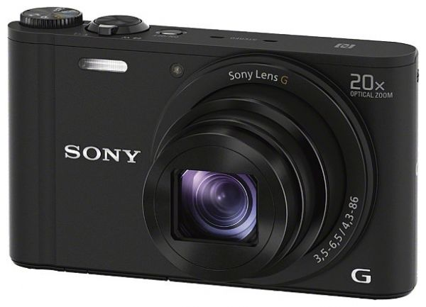 Фотоаппарат Sony Cyber-shot DSC-WX350 black
