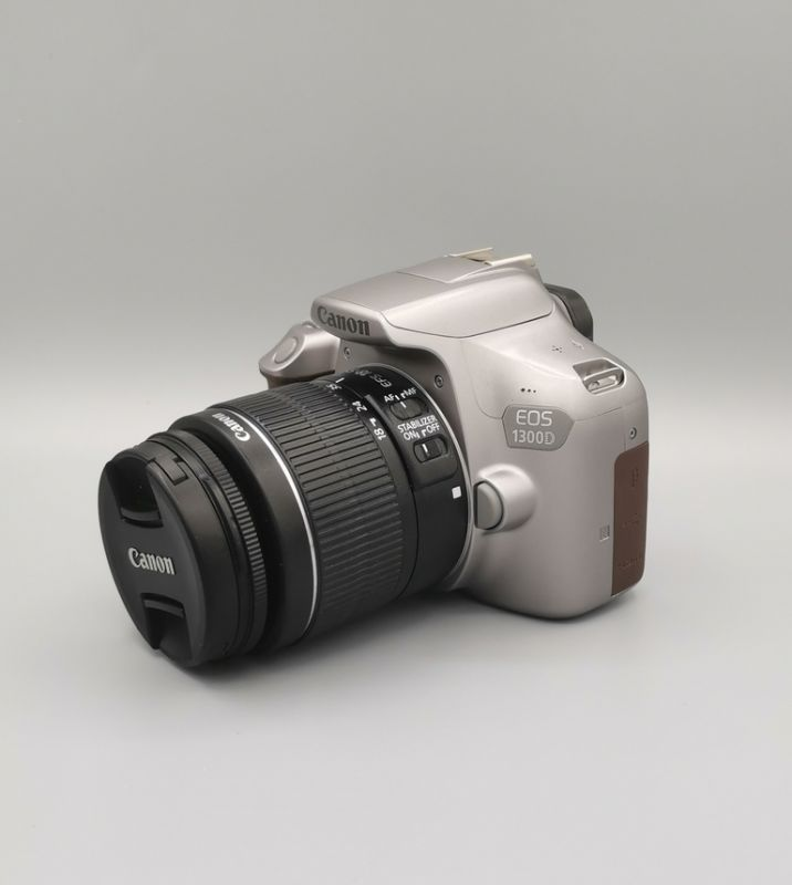 Фотоаппарат Canon EOS 1300D Kit 18-55mm IS II Metallic Gray