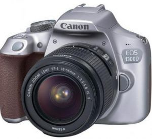 Зеркальный фотоаппарат Canon EOS 1300D Kit 18-55mm IS II Metallic Gray