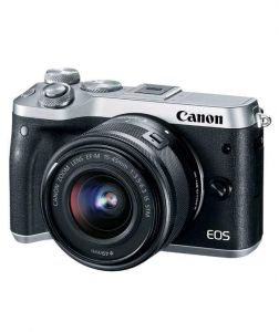 Фотоаппарат Canon EOS M6 Kit EF-M 15-45mm IS STM Silver