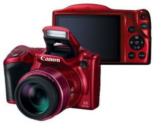 Фотоаппарат Canon PowerShot SX410 IS red