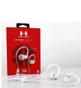 Наушники JBL Under Armour Sport Wireless Heart Rate White (UAJBLHRMW)