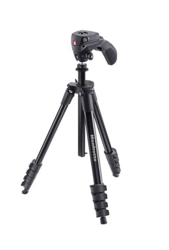 Штатив Manfrotto MKCOMPACTACN (Compact Action) Black