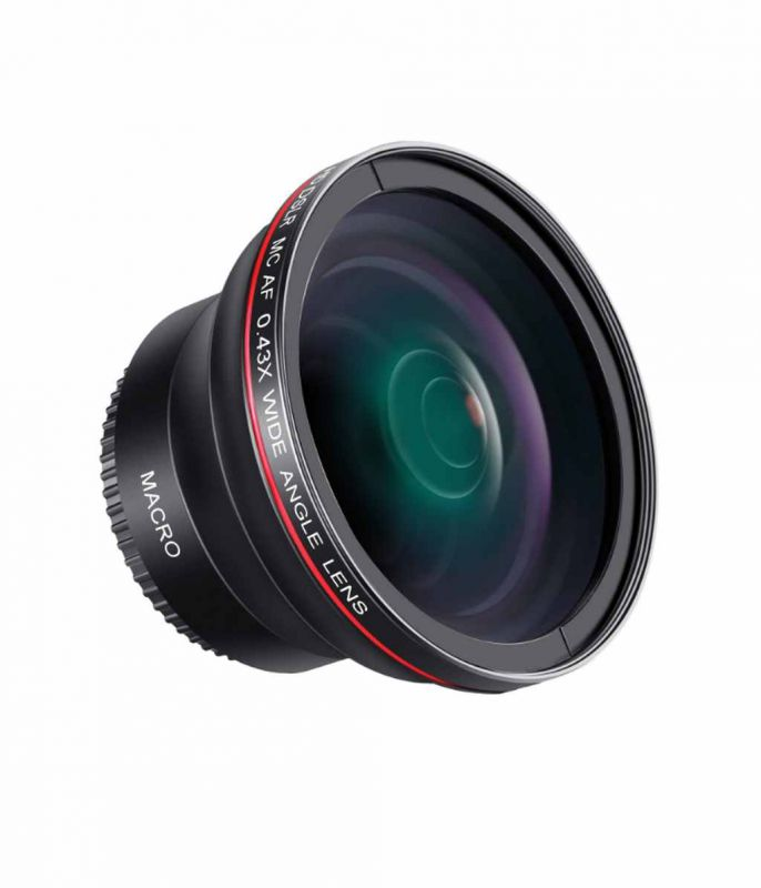 Fisheye Lens Neewer HD x0,35 52mm macro