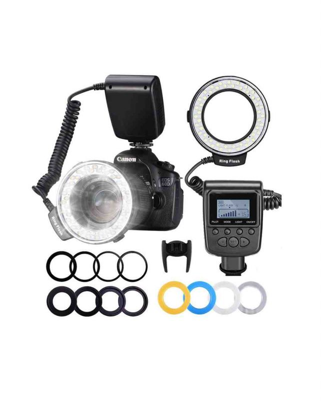 Фотовспышка Neewer 48 RF550D Macro LED Ring Flash