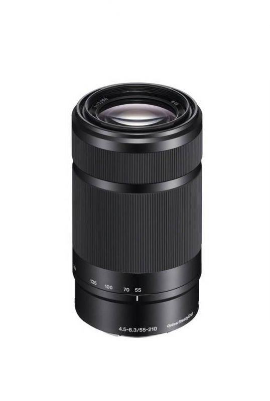 Объектив Sony 55-210mm f/4.5-6.3 E (SEL-55210) black