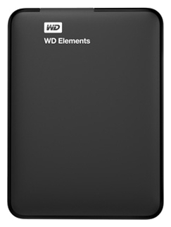 Внешний жесткий диск Western Digital WD Elements Portable 2 TB (WDBU6Y0020BBK-WESN)